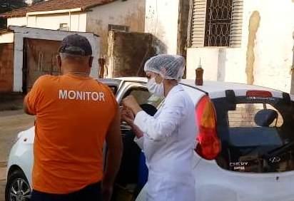 Crédito: Equipe de Imunização do município de Fortaleza de Minas